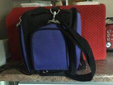 4Gamers Console Camera Accessory Bag, Blue/Black, NEW