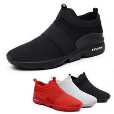 Men's Casual Sneakers Lightweight Walking Tennis Athletic Running Slip on Shoes