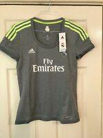 Real Madrid womens away football shirt size XXS/0-2 Adidas 2015 2016 Brand New