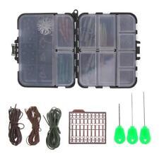 Kit Boîte de Pêche à la Carpe Engin Boîte de Clips de Sécurité Plomb