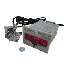 6-Digit 12V-24VDC 999999 LED Display Digital UP Counter+Hall Proximity sensor