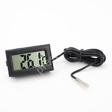LCD Digital Thermometer Temperature Aquarium Fridge Freezer Fish Tank Reptile