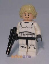 Lego Luke Skywalker Stormtrooper (No Helmet) from Set 75159 Death Star NEW sw777