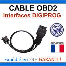 Câble OBD2 de REMPLACEMENT - Compatible DIGIPROG Toutes Versions - TACHO SBB