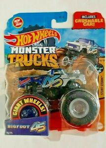 2020-Hot Wheels-Monster Trucks-Stunt Storm-Bigfoot 45th Anniversary-1:64-Boys-3+