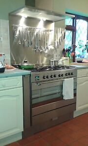 Stainless Steel Splashback-1.2mm Thick -Various Sizes - Cut to any size