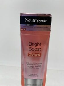 Neutrogena Bright Boost Resurfacing Micro Polish  Exfoliate Scrub 2.6oz