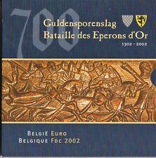 CARTERA OFICIAL BELGICA AÑO 2002