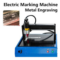 300*200mm Electric Metal Engraving Machine Sign Marking Nameplate VIN Card 220V