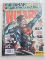 WIZARD Comics Magazine #231 NOVEMBER 2010 SUPERMAN! GUILLERMO DEL TORO! POLYBAG