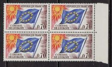 V74* Bloc de 4 timbres 1963-1971 (Neuf**MNH TBE) n°35 CONSEIL DE L'EUROPE