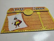 Vintage Jolly Roger  Menu Hotel Lauderdale Florida Tiki Bar Decor 50s