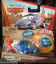 Disney Pixar Cars Die Cast Car Raoul Caroule W/ Bonus Micro Drifters New