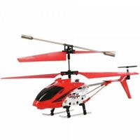 BRAND NEW RC Helicopter 3.5CH Mini Metal Remote Control GYRO Kids Gift - RED
