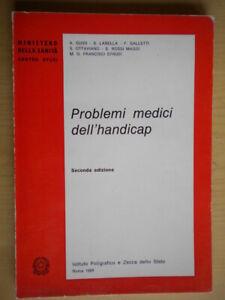 Problemi medici dell'handicapLabella Ministero Sanità medicina salute 212 nuovo