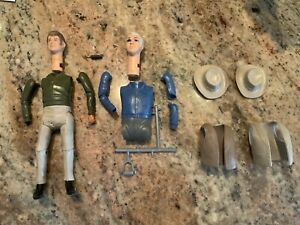 Vintage 1966 BONANZA Ben Joe Cartwright action figure AMERICAN CHARACTERS Parts
