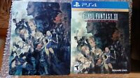 Final Fantasy XII: The Zodiac Age Limited SteelBook Edition PlayStation4 PS4 CIB