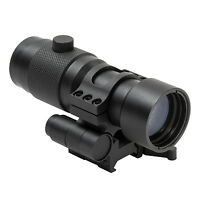 """NcStar 3X Magnifier w/Flip to Side 1.5"""" Centerline Height Quick Release Mount"""