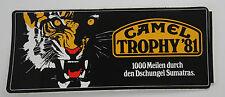Aufkleber CAMEL TROPHY 1981 Sumatra Tiger Land Rover RANGE ROVER CLASSIC