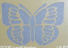 """Dreamweaver Butterfly Metal Stencil by Lynell Harlow 2.25""""  x 1.75"""""""