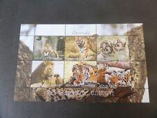 Djibouti 2011 Animals sheetlet lion tiger  MNH UM unmounted mint