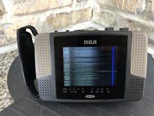 RCA L4000BC TFT ACTIVE MATRIX HAND-HELD PORTABLE LCD Television TV VHF-UHF Works