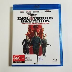Inglourious Basterds | Blu-ray Movie | Quentin Tarantino, Brad Pitt | War/Action