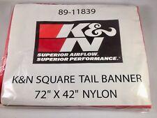 HUGE K&N AIR FILTER BANNER NYLON SCREEN PRINT 1828x1066mm GENUINE
