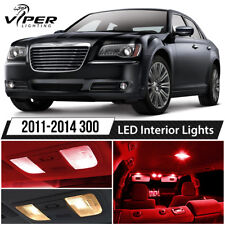 2011-2014 Chrysler 300 Red LED Interior Lights Package Kit