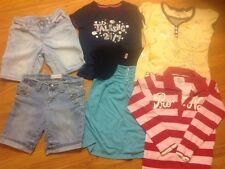 Girl's 6 pc Lot of size 7 & 7/8 Clothes Mixed Lot Brand Names Spring Summer