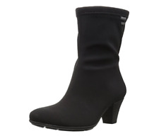 Mephisto Brunila Women's Black Side Zipper Bootie Sz 9US 1079 *