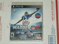 Madden NFL 16: Playstation 3 [Brand New] PS3 Factory Sealed - Disc Loose in Case