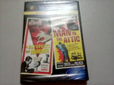 Midnite Movies Double Feature A Blueprint for Murder/Man in the Attic Brand New