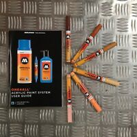 Molotow One4All 127 HS Acrylic Marker - Character Set - 6 Markers