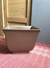 Square 17� Planter Pot Plastic Indoor/ Outdoor Gold/ Bronze