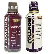Collagen 5,000 mg + L-Carnitine with Artichoke, Fiber, B12 and Green Tea