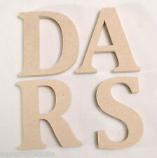EXTRA LARGE IN LEGNO LETTERE 280 mm dì mdf-hand made-plaques-names-signs-cambria