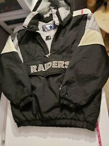Vintage Los Angeles Raiders Las Vegas Oakland Starter Pullover Jacket