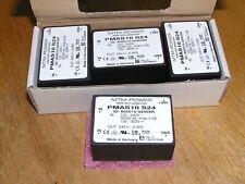 NEW - Lot of 4x MTM Power PMAS10 S24 100-240VAC 24VDC 10Watt encapsulated PSU