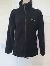 Berghaus Prism Polartec Interactive Full Zip Fleece In Black - Size 12