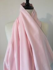 Pale Pink Poly/Cotton fabric - per metre