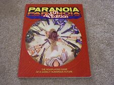 West End Games Paranoia The Fifth Edition softcover rulebook