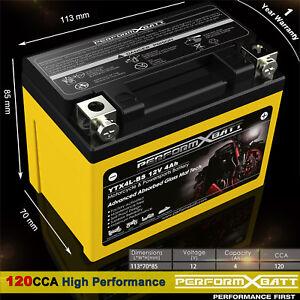 12V 4Ah Motorbike AGM Battery ATV Quad Dirt/Pit Bike 50/70/110/125 cc YTX4L-BS