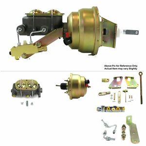 "67-72 Chevy Truck C10 C20 FW Mount Power 8"" Dual Brake Booster Kit LS Disc/Disc"