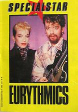 EURYTHMICS SpecialStar Ciao 2001 4 1987 16 pagine