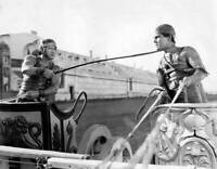 Francis X Bushman Holds Ramon Novarro Around The Neck With His Whip OLD PHOTO