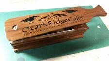 "Ozark Ridge Hand Crafted Walnut Turkey Call "" The OZARK HEN"""