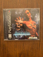 Shadow Man (Sony PlayStation 1, 1999) PS1 Complete CIB W/ Manual, map