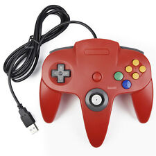 Classic Retro N64 Bit Nintendo 64 USB Wired Controller Gamepad for PC and MAC