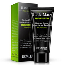 Deep Cleaning Blackhead Remover Moisturizing Peel Off Mask Cream Bamboo Charcoal